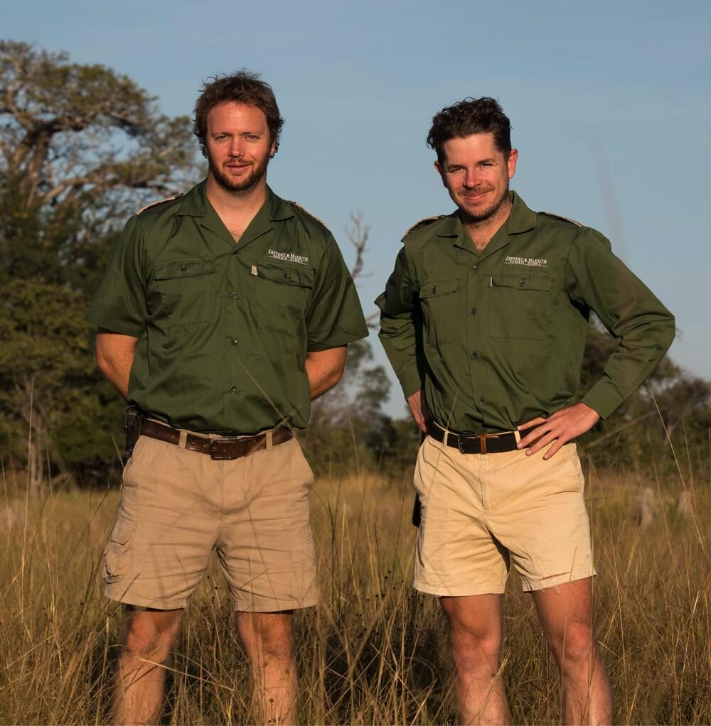 Our Founders - Phil and Tyrone